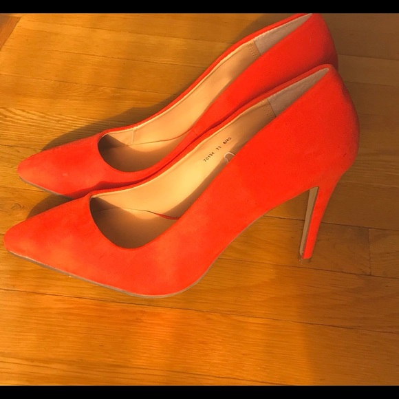 3074f29d7ed69 Atmosphere Shoes   Womens 45 Inch Brightcolored Pumps   Poshmark